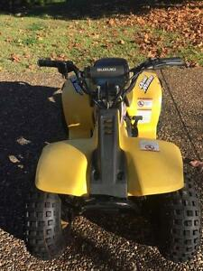 Suzuki LT50 Quad Barden Ridge Sutherland Area Preview
