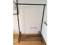 IKEA Portis clothes rail, clothing rack, black, great condition!