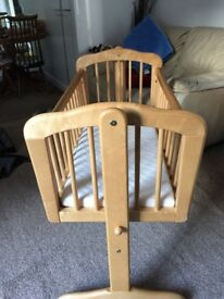 MOTHERCARE Wooden Solid Crib /Cot