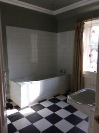 """Heritage"" Bathroom Suite (wc, bath, basin taps, waste etc)"