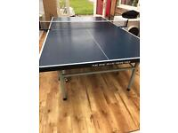 Indoor table tennis ping pong
