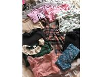 Girls kids clothes bundle size 3-4 years