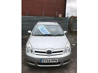 Toyota verso MPV 1.8 very power 7 seater 54 plate