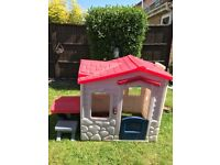 Little tykes playhouse. Great condition, very clean.