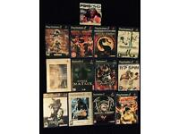15 Ps2 DVD's