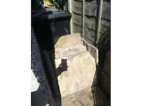 9 large pieces Yorkshire stone