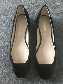 M&S Autograph Ladies Suede Ballet Pump Shoes