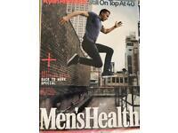 Men's health UK magazines 2016-2018