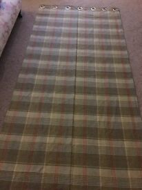 2x Bronte by Moon wool Curtains
