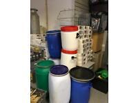 Range of barrels