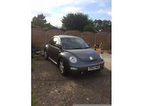 VW Beetle 1.8t for spares or repair. Engine smoking badly. High Spec with MOT to October