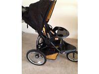 Baby Trend, Expedition FX, 3 wheel jogging pram