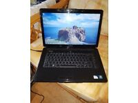 dell inspiron 1545 windows 7 3g memory 250g hard drive webcam wifi dvd drive charger