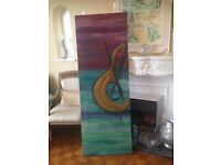 OIL PAINTING - MUSIC IN THE AIR BY MISS KIPTIA - A beauty for home, cafe or restaura