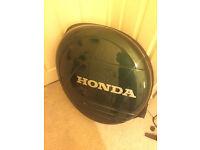 Honda CRV spare tyre cover Green