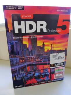 FRANZIS HDR Darkroom 5, Adobe Photoshop Elements & other Software