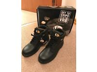 Pair of Work Safety Boots - steel toecap - Size 9