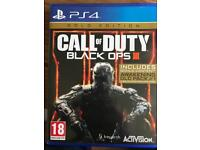 PS4 Call of Duty - Black Ops 3 (Gold edition)