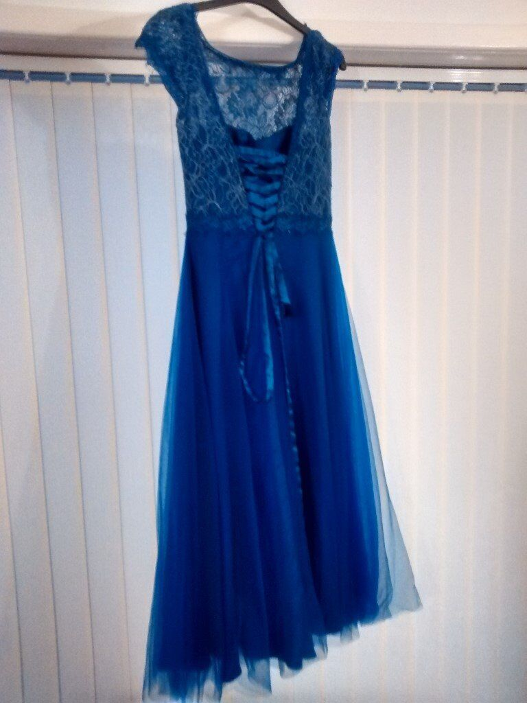 PROM DRESS URGENT Size 12in SwanseaGumtree - PROM DRESS Bought for £300 Tea cup fit Only worn once Selling for cheap price as the dress is taking up space, want to sell ASAP. BRAND CRYSTAL BREEZE SIZE 12 COLOUR ROYAL BLUE Let me know if you have any questions! Thanks