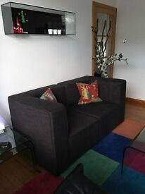 Steijer Modular 2 Seater Sofa with Footstool