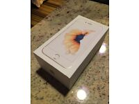 iPhone 6s gold BRAND NEW BOXED