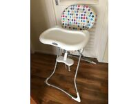Fordable high chair