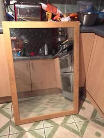 Mirror wooden