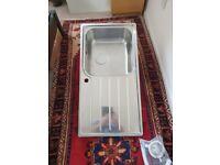 Stainless Steel Kitchen Sink - Left handed