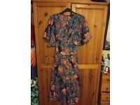 Size 12 3/4 Floral Jumpsuit