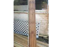 Bulk lot of wooden decking boards treated painted X 13 3.6m lengths
