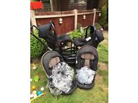 ABC zoom double pushchair for sale