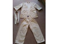 Judo suit, age 12-13 years, 145-154cm height