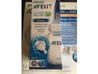 Philips avent electric breast pump and new bottle