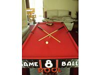 5ft pool table in very good condition. collection only