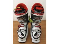 Salomon Idol 8 Women SkiBoots(BRAND NEW with tags)UK5.5/24.5 RRP£500 on skis . com so a real BARGAIN