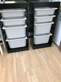 IKEA Trofast Storage Units x 2 with all drawers