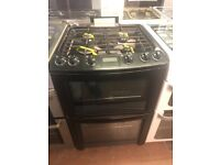 60CM BLACK ELECTROLUX GAS COOKER