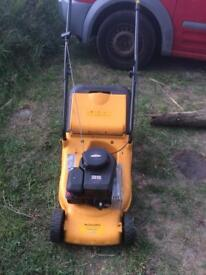 McCulloch lawnmower with grass collector