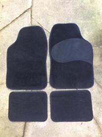 Unused car mats