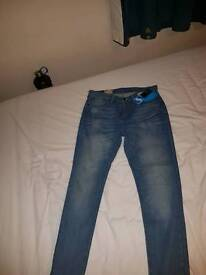 REAL LEVI 511 Mens jeans
