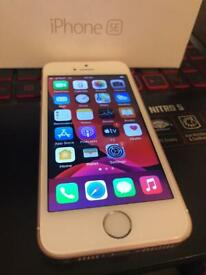 iPhone 5se 32gb unlocked with box brand new screen good condition