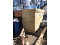 14 boards of 120mm kingspan