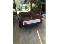 cheap box trailer