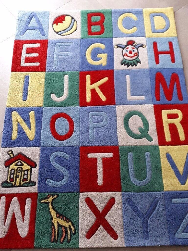 Alphabet Rug 120cm x 163cm