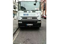 2002 IVECO EUROCARGO ML180E24 FLATBED in Croydon