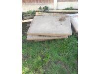 Concrete slabs x30