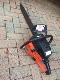 Chain saw SACHS. DOLMAR 123