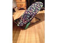 Mothercare laid back baby chair
