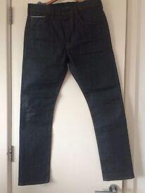 Edwin SEN SK Slim Straight - Japanese Selvage / Selvedge Denim Jeans - Raw State - 33 Leg / 33 Waist