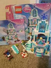 Elsa's sparkling ice castle with box and instructions. Now retired.